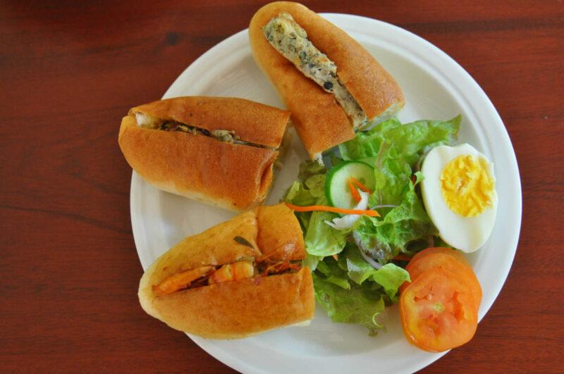 マンゴーハウスの朝食