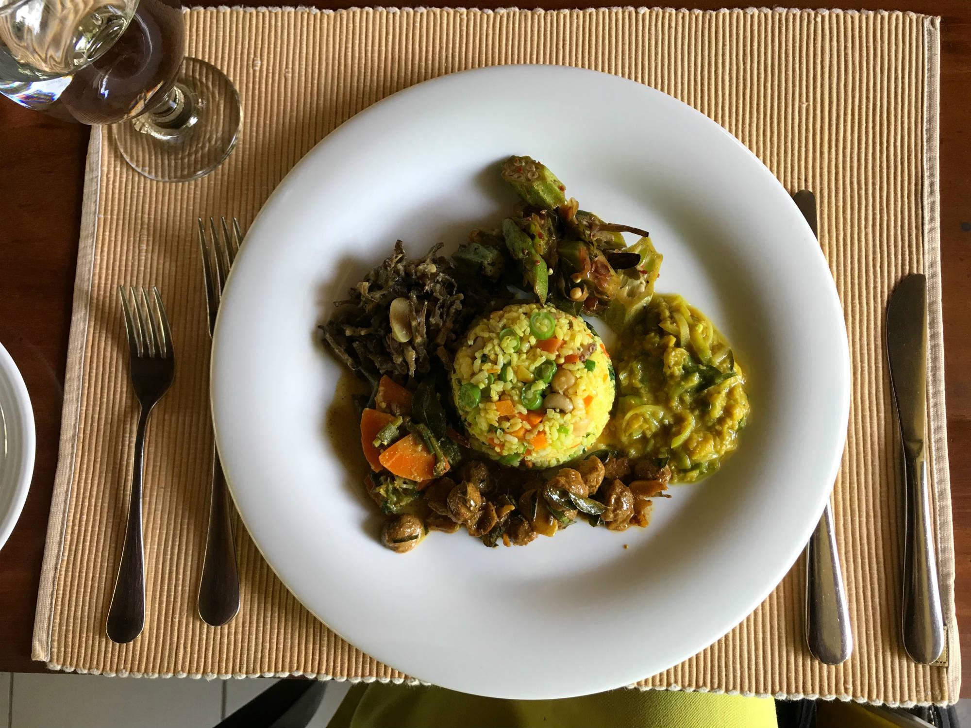 ayurveda pavilions food