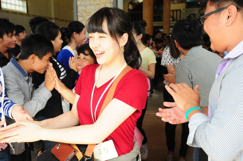タヤマ日本語学校の皆様、ありがとう。