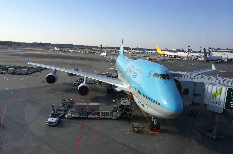 コリアンエアーで無事日本へ帰国。お疲れ様でした!