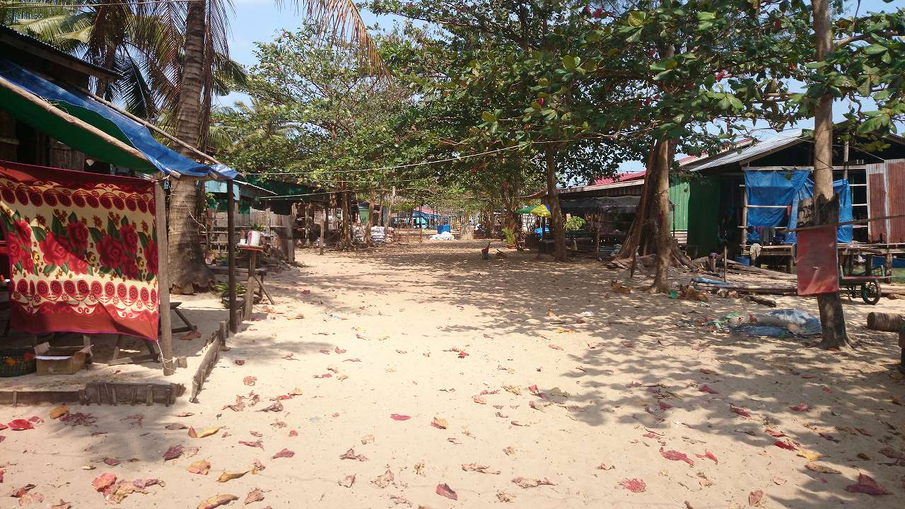 カンボジアロン島画像